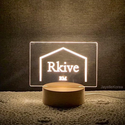 Rkive RM LED mood light stand (Acrylic & wooden (RK0008)