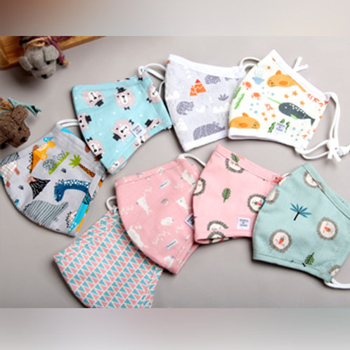 Kids Cloth Mask - Print Patterns (MK0007)