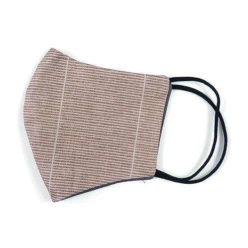 Cloth Mask - Oriental Stripes (Brown)(M0013)