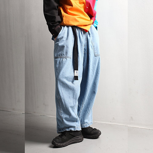 [Label M] Denim Balloon Pants - 3 Colors (A0010)