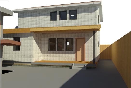 Test render of the chosen design