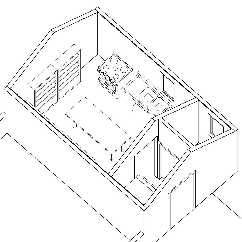 Garage Kitchen Conversion