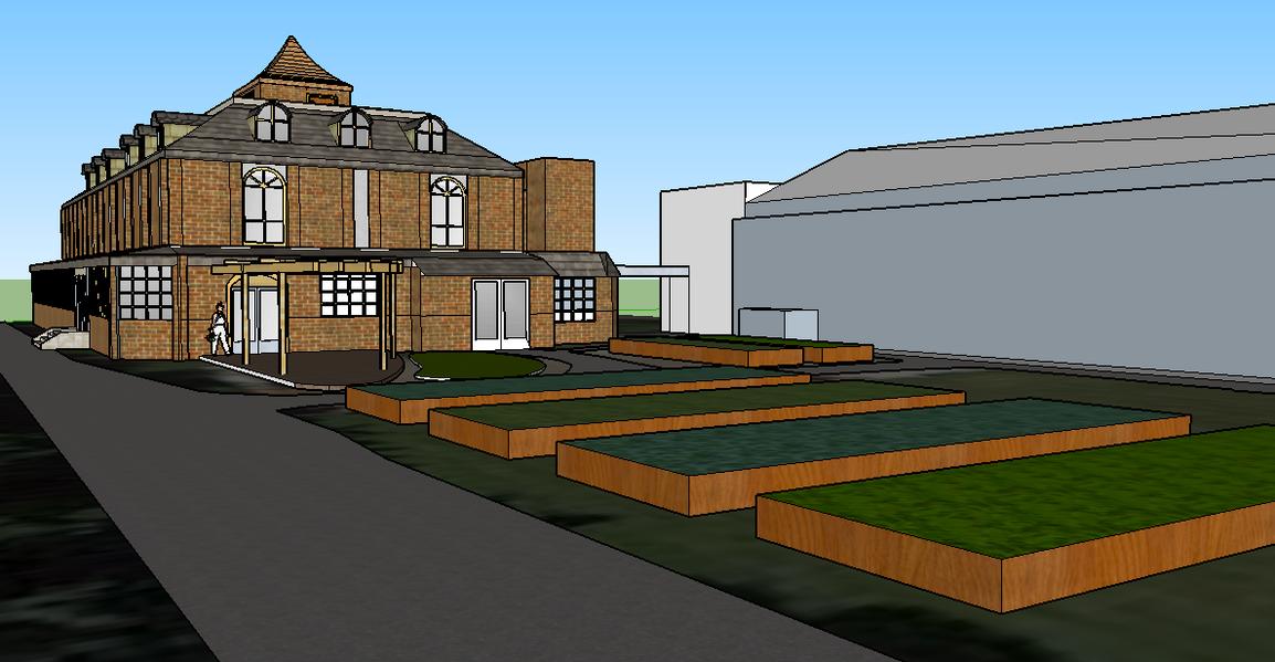 Urban farm space