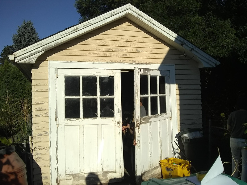 French doors to be replaced
