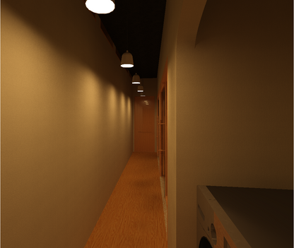 Interior hall in design #14