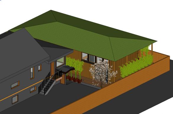 Wider design with wraparound deck