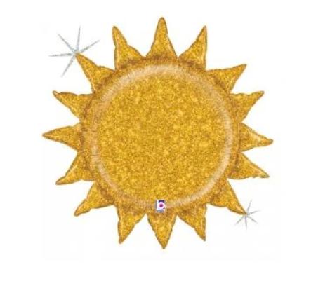 "27"" Glitter Sunshine"