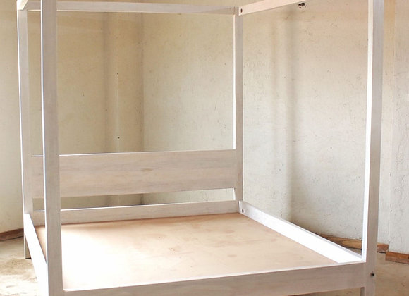 Four Poster Cypress Bed