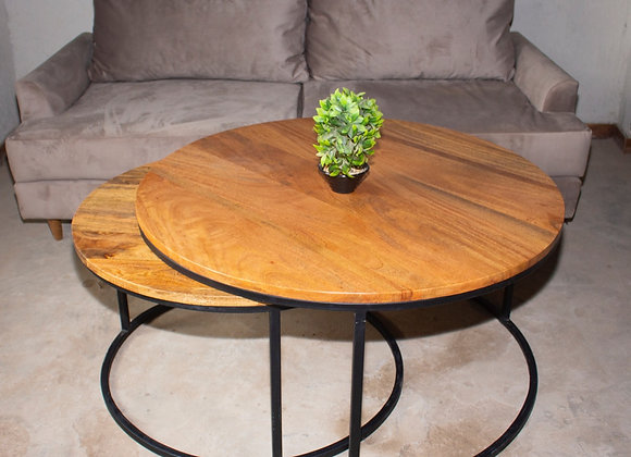 Nested coffee table