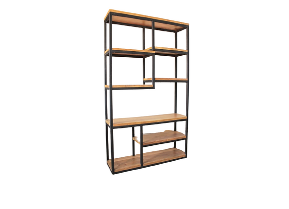 Staggered Shelf