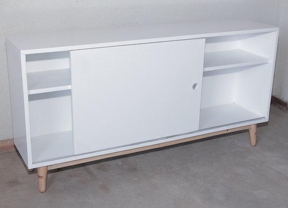 White storage unit