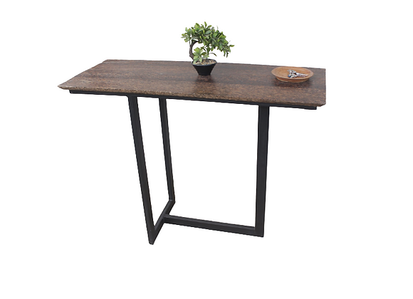 Doum Palm Console Table