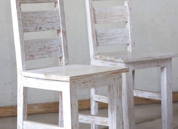 White Wash Chair