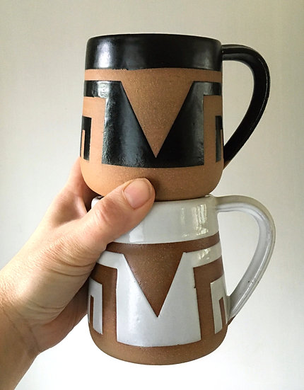 Triangle Sunset Mug