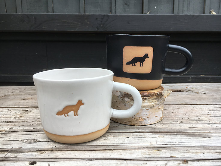 Wonky Fox Mug