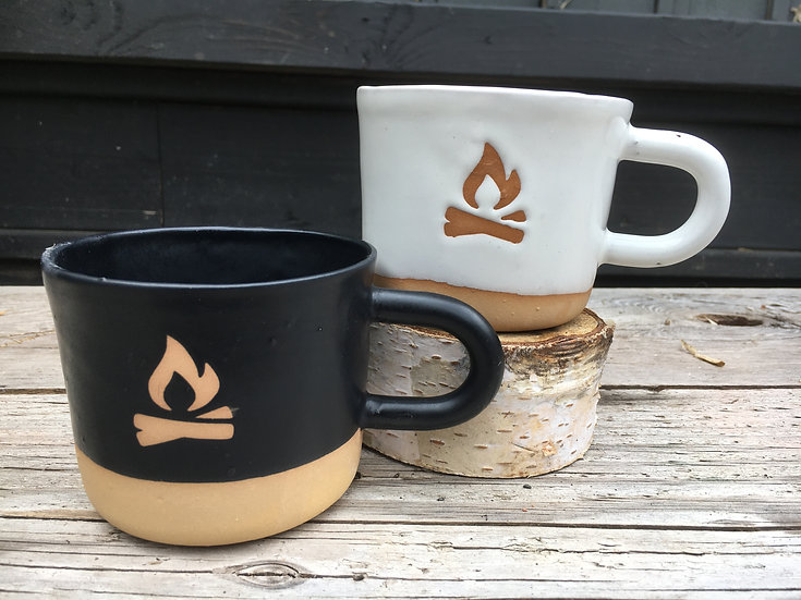 Wonky Camp Fire Mug