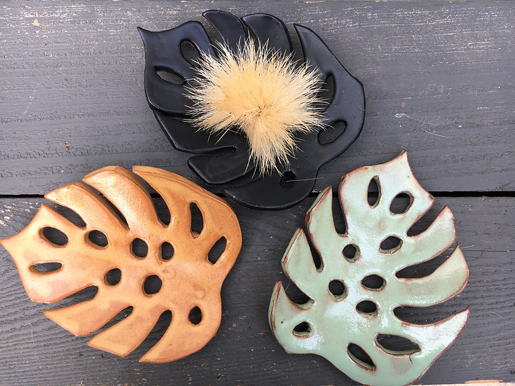 Monstera Leaf Soap Dish