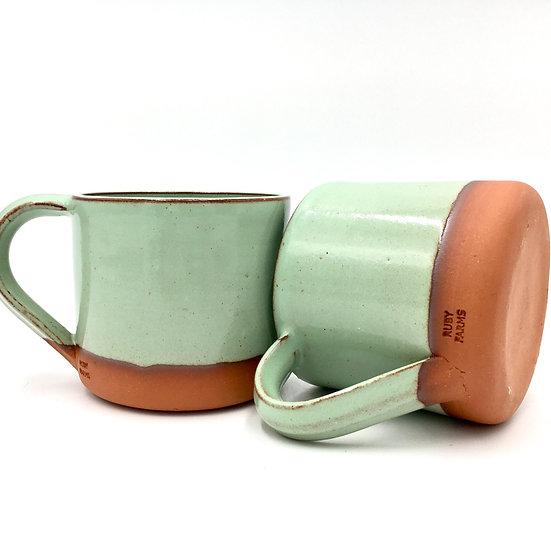 16oz Pistachio Dipped Mug