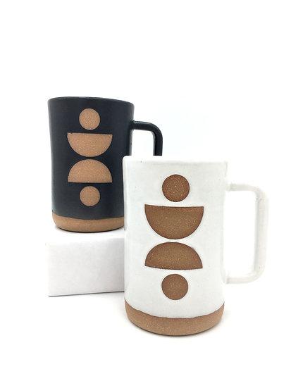 Tall 16oz Geometric Lady Mug