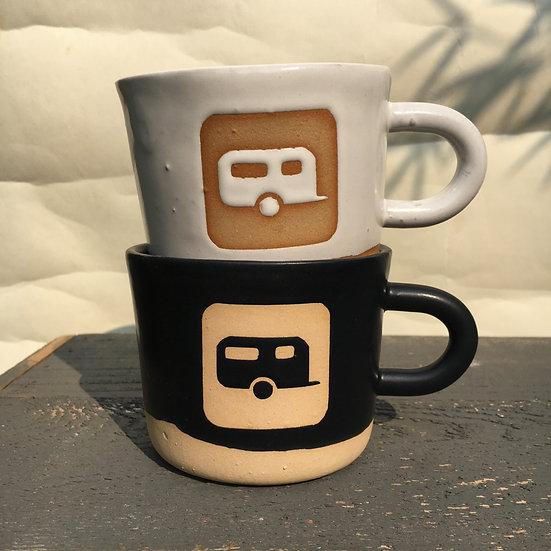 Wonky Framed Camping Trailer Mug