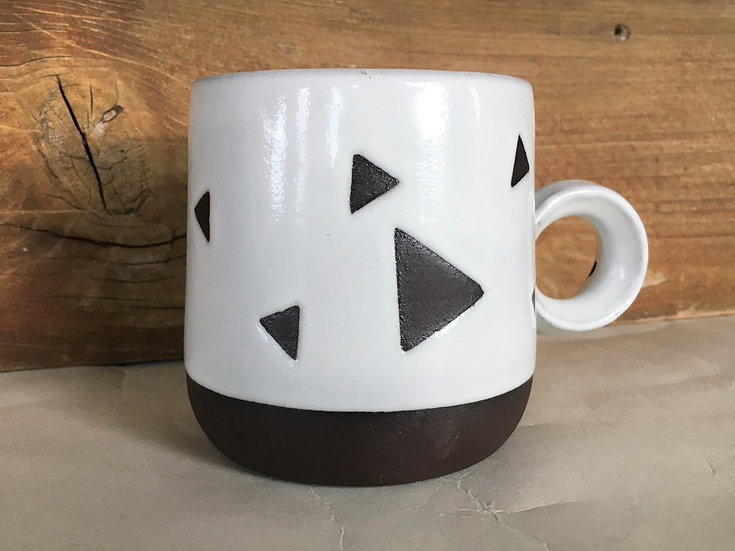 Dark Chocolate Triangle Mug