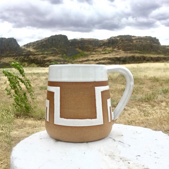 Rectangle Sunset Mug