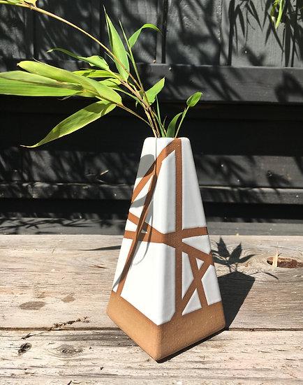 Small Triangle Line Vase