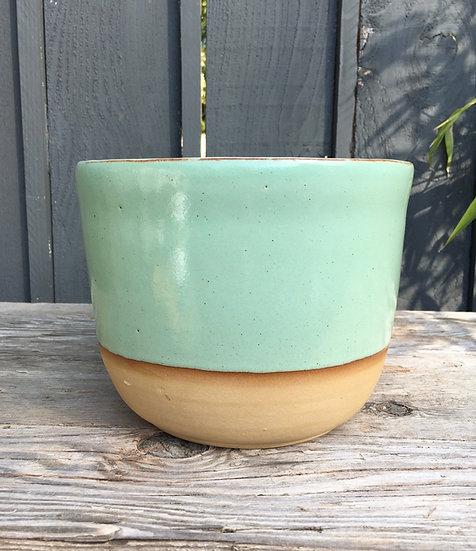 """3"""" 4"""" 6"""" or 8""""  Pistachio Plant Pot"""