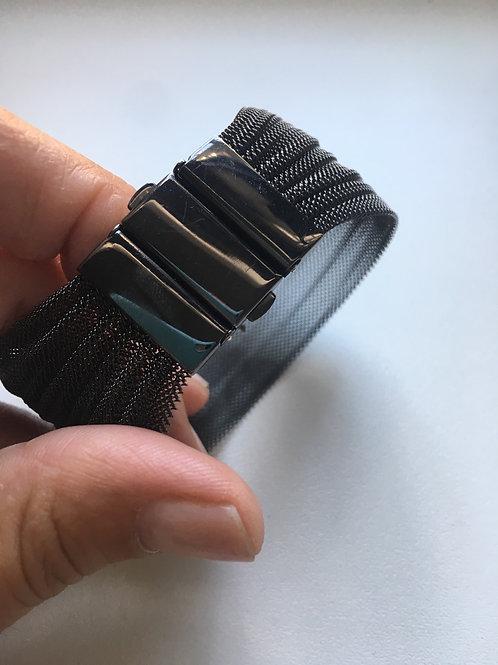 Bracciale  fascia con elementi  arg.925