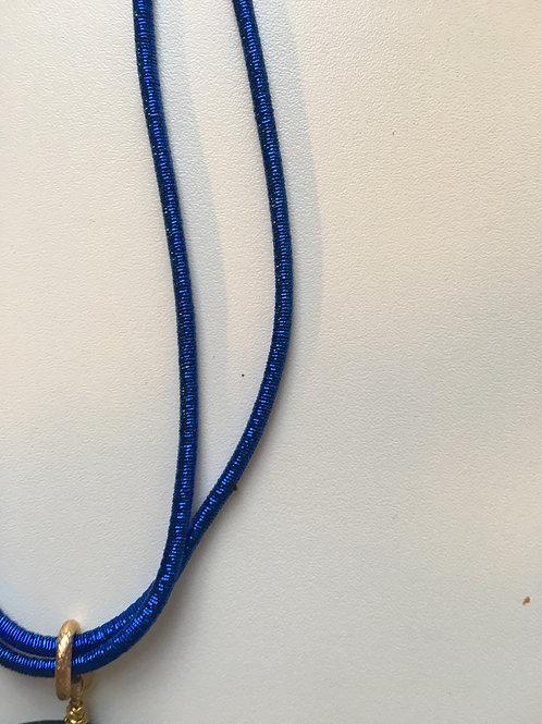 Collana laccio metallico Lurex