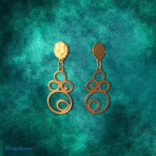 orecchini pendenti di zama