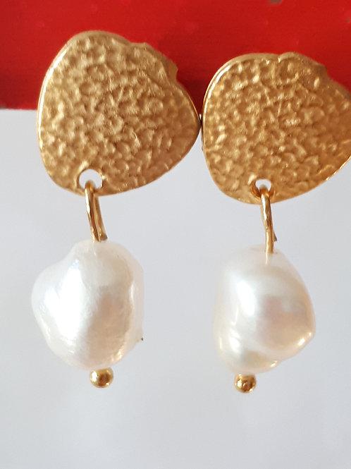 Orecchini zama perla