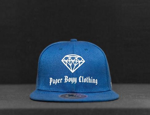 PBC Hats - Blue w/ White Ice