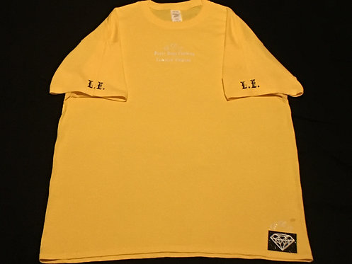 Yellow T-Shirt (White and Black Ice Design)