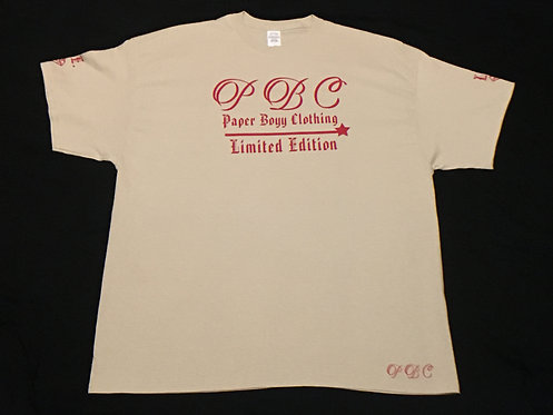 Tan T-Shirt (Red Design)