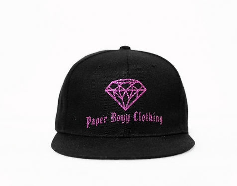PBC Hats - Black w/ Purple Ice