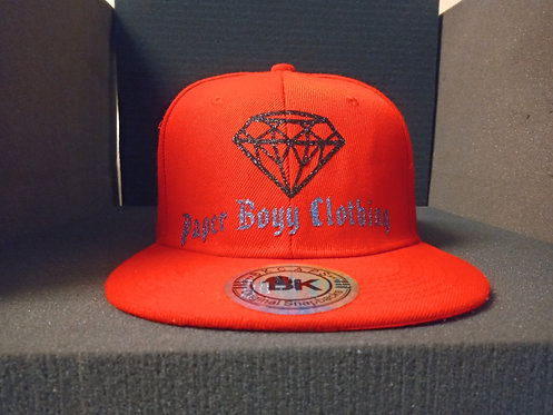 PBC Hats - Red w/ Black and Blue Ice