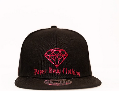 PBC Hats - Black w/Red Ice