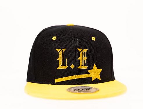 PBC Hats - Black w/ Gold Ice