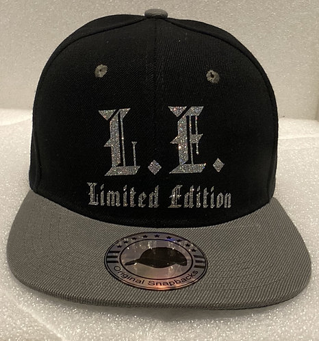 PBC Hats - Black and Grey w/Silver Ice