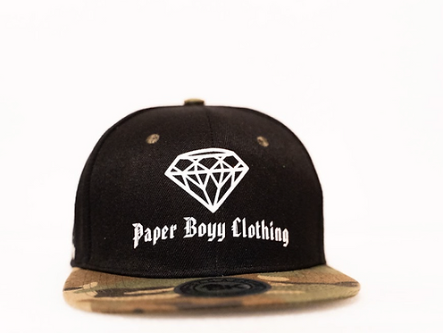 PBC Hats - Camo w/ White Ice
