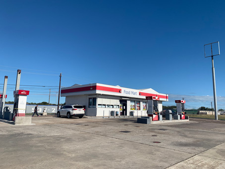 0.44 Acres + C-store with 8 gas pumps - $850K (Corpus Christi)