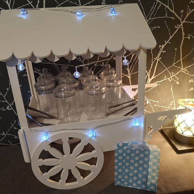 Hire our Mini Candy Cart with 10 Victori