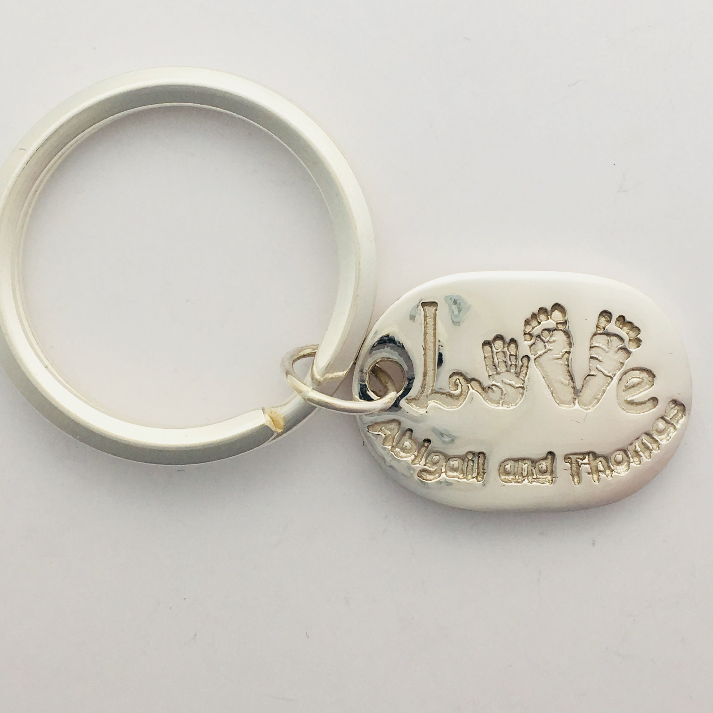 Keyring with Various Prints