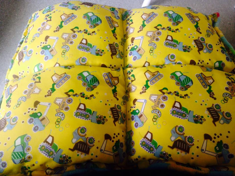 2kg Lap Pad with Digger Fabric