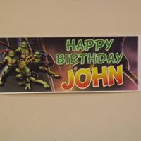 Personalised Themed Banner