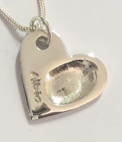 Fingerprint on Heart