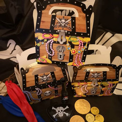 Pirate Party Favour Boxes......