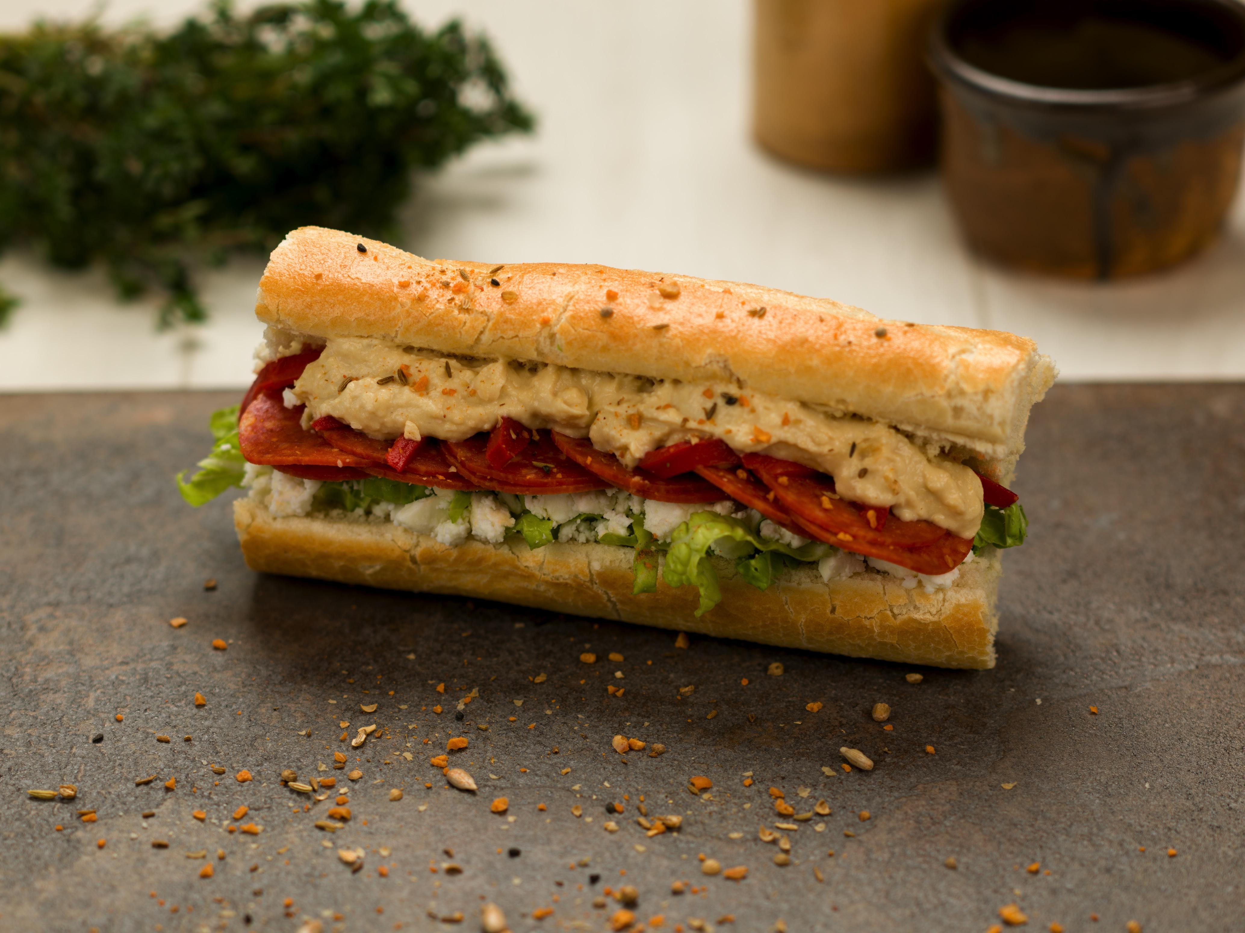 Pepperoni Sandwich