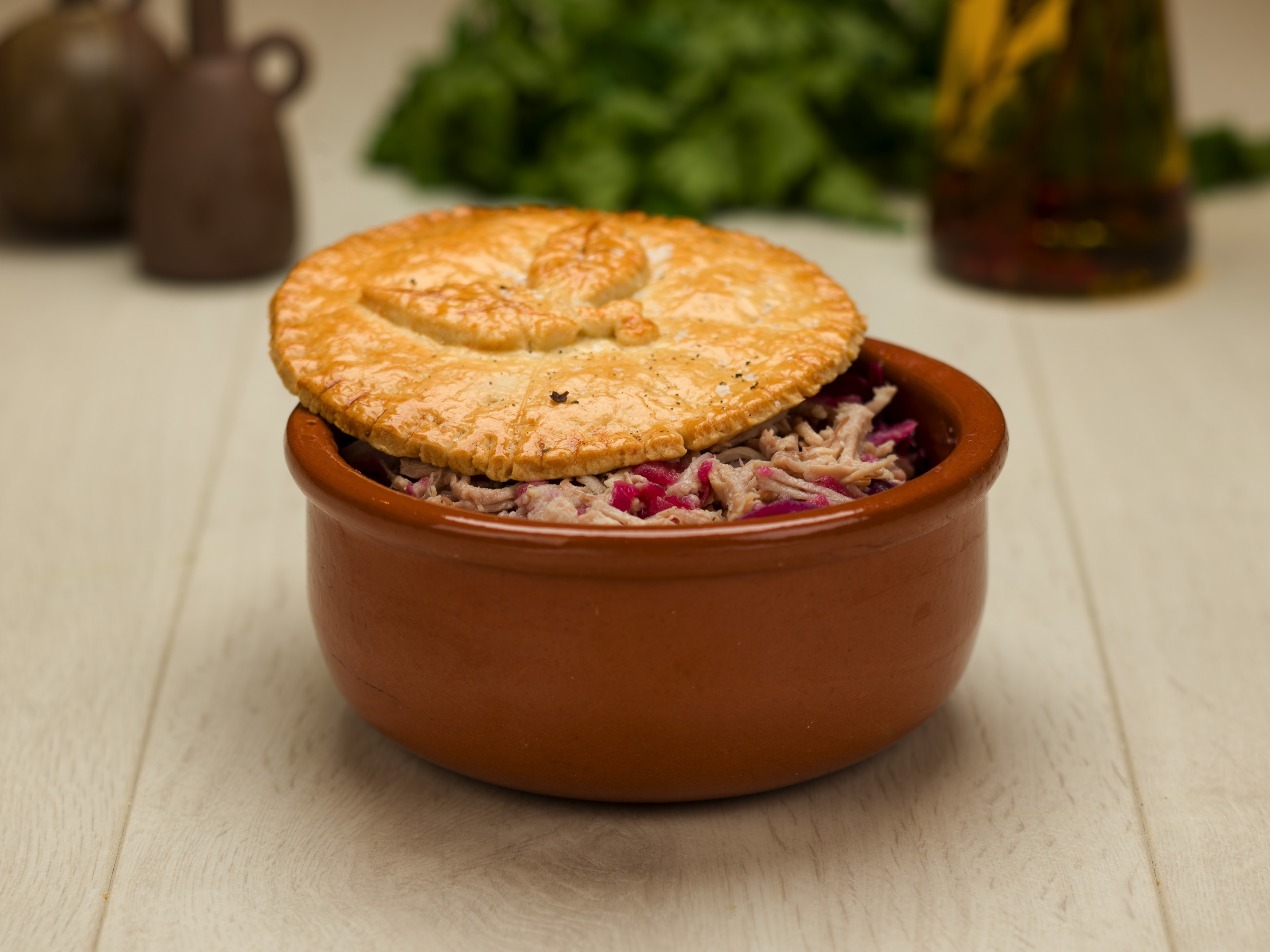 Slow Cooked Pulled Pork Pie